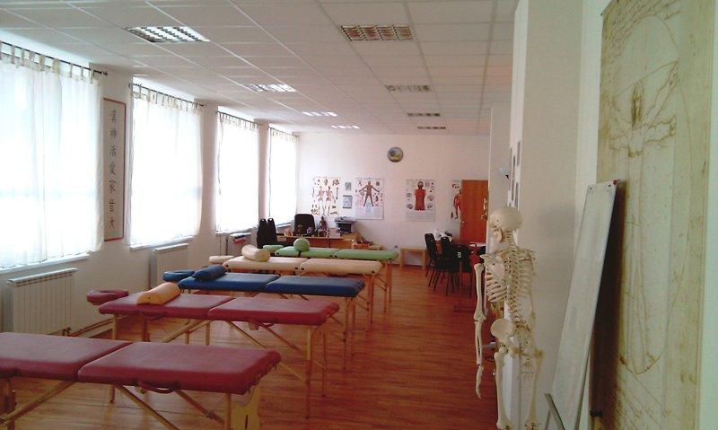Učebna, masérna | ZÁZRAKY DUŠE - Masérské kurzy Ostrava